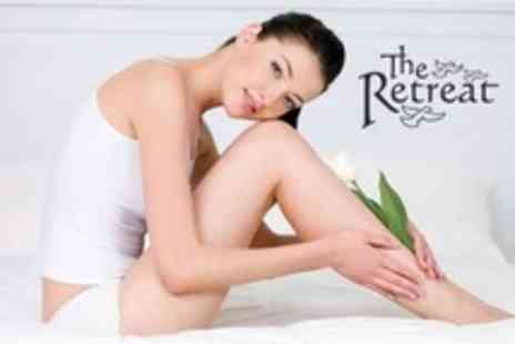 The Retreat - Four Sessions of Laser Hair Removal on Full Legs - Save 90%