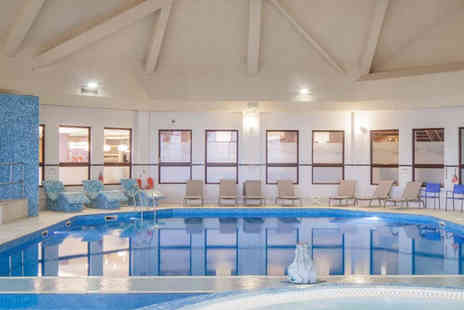 Doubletree by Hilton Glasgow Westerwood Spa & Golf Resort - 25 minute Elemis spa treatment, spa access, afternoon tea, a glass of bubbly - Save 45%