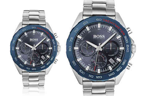 Best Watch Company - Hugo Boss HB1513665 mens sport intensity stainless steel watch - Save 72%