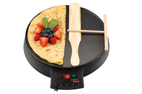 CJ Offers - Cooks Professional crepe maker - Save 50%