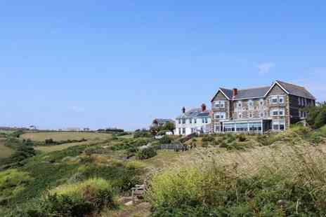 Housel Bay Hotel - Two Nights clifftop stay in Cornwall with breakfast - Save 62%