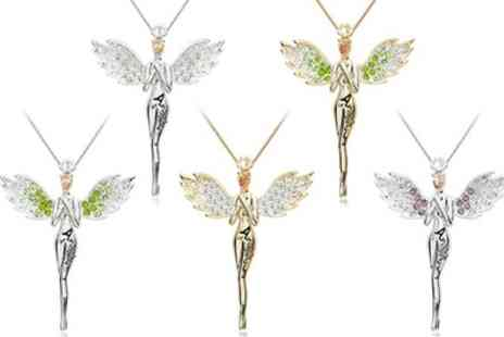 Groupon Goods Global GmbH - One or Two Guardian Angel Necklaces - Save 88%