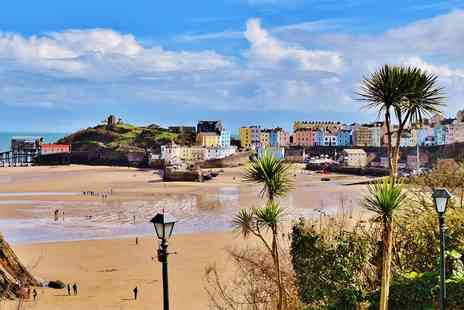 Fourcroft Hotel - Two nights beachfront break in Tenby - Save 44%