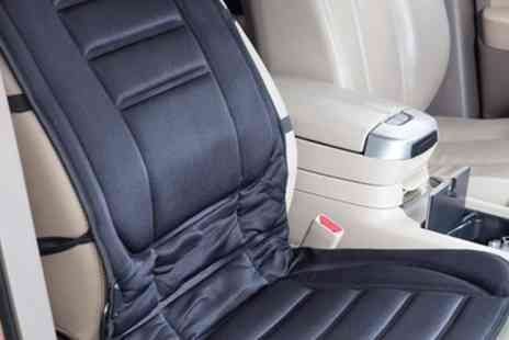 Groupon Goods Global GmbH - One or Two Heated Car Seat Cushions - Save 57%