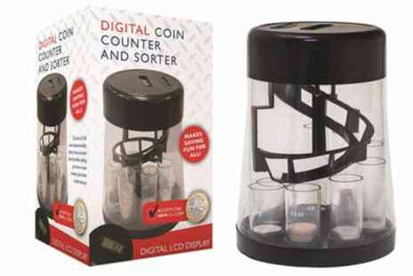 Groupon Goods Global GmbH - Digital Coin Counter and Sorter - Save 23%