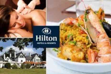 Hilton Cobham - Spa Package Massage and Facial Plus Two Course Lunch For One - Save 51%