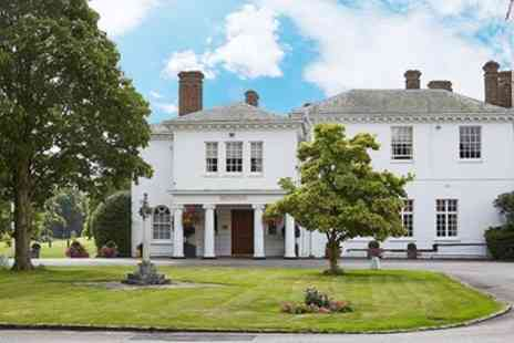 Milton Hill House - 1 To 2 Nights for Two with Breakfast and Two Course Dinner - Save 0%