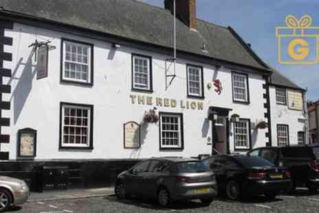 Red Lion Coaching Inn - 1 or 2 Nights for Two with Breakfast, Glass of Wine and Optional Dinner - Save 0%