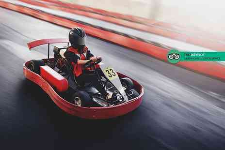 Full Throttle Raceway - 25 lap go karting experience for one person - Save 47%