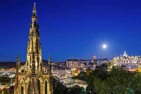 Mercure Edinburgh Princes Street - Overnight stay for two people with a bottle of wine on arrival and breakfast - Save 64%