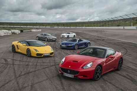 Supercar Drive Days - Supercar driving experience for one person with three laps in one supercar - Save 37%