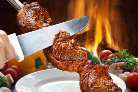 Terra Brazil Brazilian Rodizio - All You Can Eat Lunch or Dinner Rodizio Buffet for One or Two - Save 32%