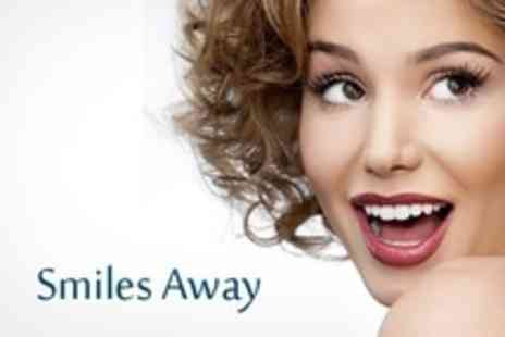 Smiles Away - Teeth Whitening - Save 76%