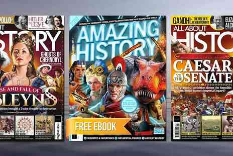 Future Publishing - All About History Magazine As Entertaining as it is Educational Plus Free Ebook - Save 46%