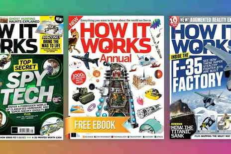 Future Publishing - How It Works Annual Subscription Feed Inquisitive Minds with the Educational Family Magazine Plus Free Ebook - Save 54%