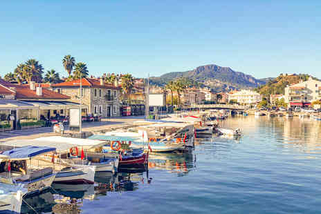 Worldwide Tours and Travel - Escape with a three, four, five or seven nights getaway to Marmaris Now with the ability to choose your flight - Save 0%