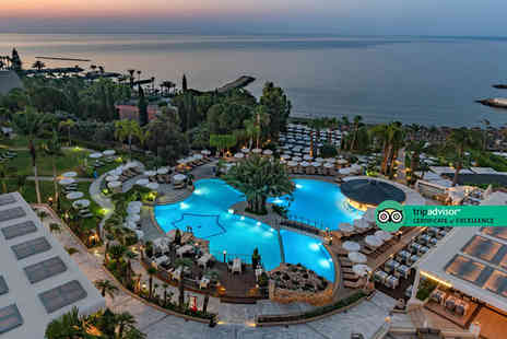 Bargain Late Holidays - Four Star Escape with a three, four, five or seven nights getaway to Cyprus Now with the ability to choose your flight - Save 0%