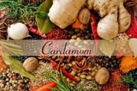 Cardamom - Two Course Indian Meal With Wine For Two - Save 59%