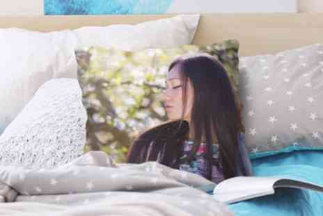 Photo Gifts - Classic or Premium Personalised Photo Cushion - Save 89%