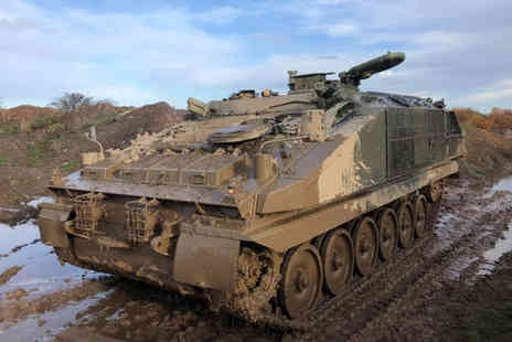 Xperience - Tank driving experience - Save 0%