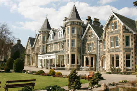 The Craiglynne Hotel - Overnight Scottish Highlands getaway for two people with dining credit - Save 63%