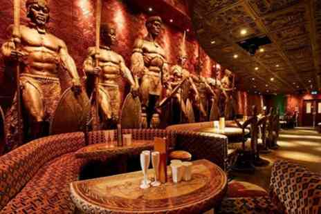 Shaka Zulu - Three Course Meal and Cocktail for Up to Six - Save 61%