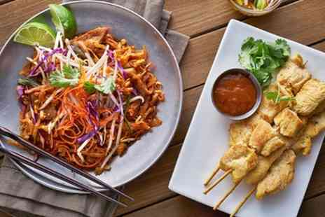 ZappZaa Thai Cafe - Thai Taster Menu with Wine or Cocktail for Two or Four - Save 47%