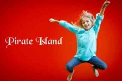 Pirate Island - Indoor Play Centre Admission for Two Children Under Four Years - Save 64%