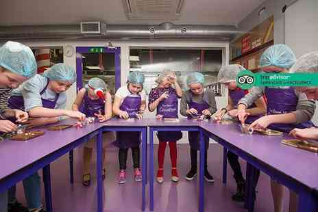 The Cocoabean Company - Childrens chocolate workshop including lunch, three take home chocolatey goodies, a Cocoabean hair net and apron - Save 33%