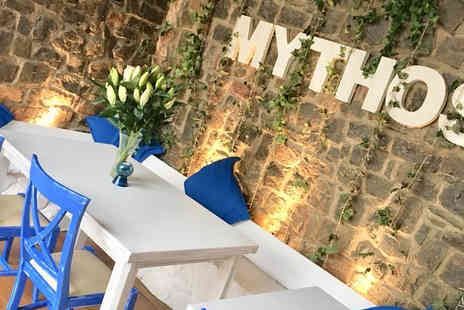 Mythos - Two course lunch for two with a glass of Prosecco each - Save 0%