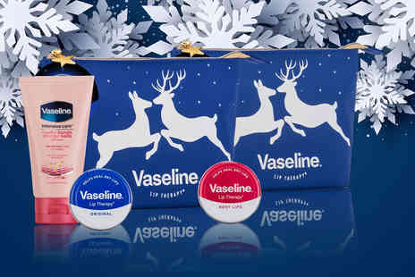 Avant Guarde Brands - One Vaseline Moolit Kiss beauty bag gift set - Save 0%