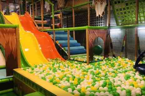 Wacky Kingdom - Indoor Play Area Entry for Up to One Adult and Two Children - Save 0%