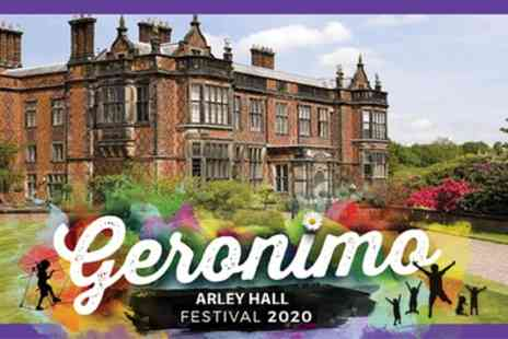 Geronimo Festival 2020 - Two Saturday, Sunday or Monday Day tickets from 23rd To 25th May 20 - Save 55%