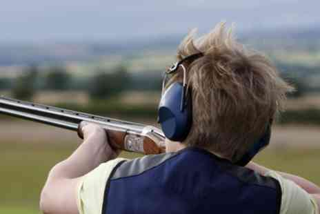 Cloudside Shooting and Sporting Club - Clay Pigeon Shooting with Bacon Roll for One or Two - Save 77%