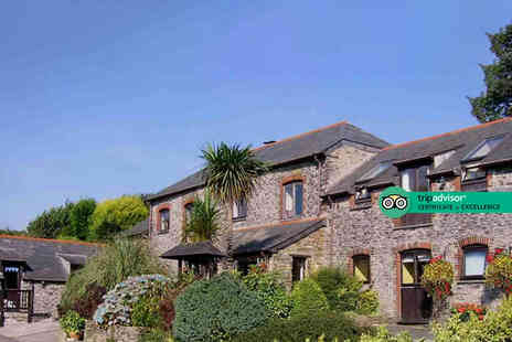 Penvith Barns - Overnight Cornwall getaway for two people with breakfast and bottle of Prosecco - Save 0%