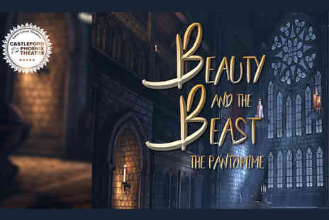 Castleford Phoenix Theatre - Single ticket to see Beauty and The Beast Pantomime - Save 25%