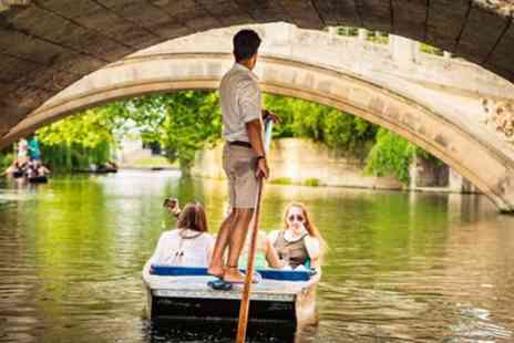 Rutherfords Punting Company - 45 Minute Cambridge Punting Shared Tour for One or Two - Save 20%