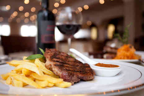 Mia Porto Due Restaurant - Steak dining for two people with a bottle of wine - Save 54%