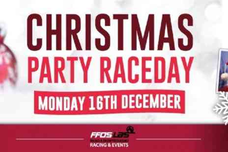 Raceday Christmas Party - One, two or four Race Day Christmas Party packages on 16th December - Save 20%