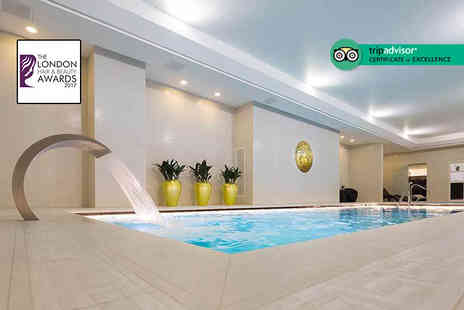 M by Montcalm - Five Star spa experience for one person with two hour spa access, treatment, a £10 voucher and a glass of bubbly - Save 59%