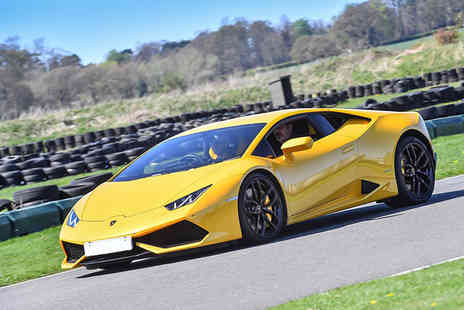 Supercar Test Drives - Three lap driving experience in a Lamborghini Huracan on a weekday - Save 74%