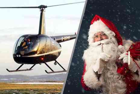 Helicentre - Private helicopter flight with Santa for up to three people - Save 36%