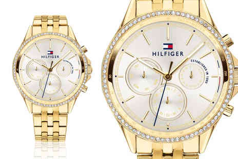 Best Watch Company - Tommy Hilfiger 1781977 ladies chronograph watch - Save 72%
