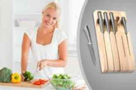 Premier Housewares - High quality five piece knife set from Premier Housewares  - Save 0%