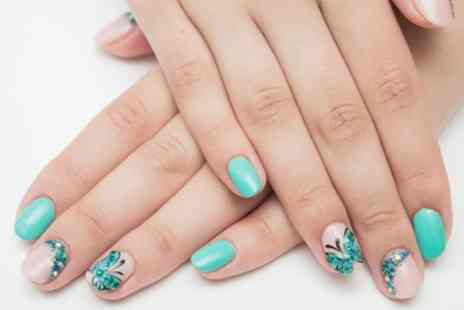 Nevada - Gel Manicure, Pedicure or Both - Save 48%