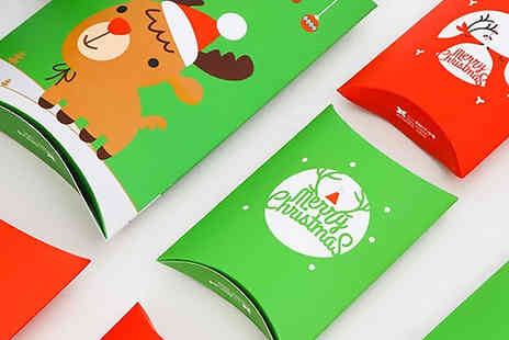 Wish Whoosh Offers - 10 Pack of DIY Christmas Boxes Choose from 4 Styles - Save 65%