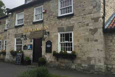 Bay Horse Goldsborough - North Yorkshire country inn stay - Save 45%