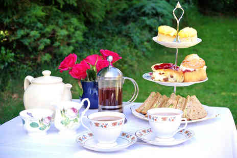 The Redstones Hotel - Scottish afternoon tea for two glass of Prosecco or Scotch Whisky each - Save 63%