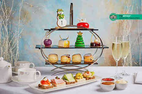 Podium Restaurant - Festive afternoon tea for two people - Save 50%