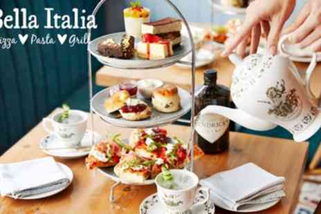 Bella Italia - Italian Afternoon Tea with Gin for Two - Save 17%
